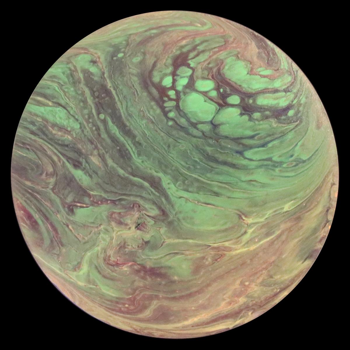 A6-014- Hot Jupiter in Green