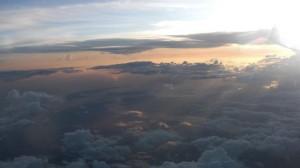 Somewhere over Florida