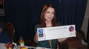 Felicia Day and a Galileoscope!