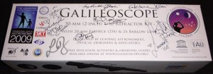 Felicia Day + Battlestar Galactica Cast signed Galileoscope