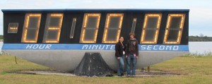@MarkSands and I in front of Countdown Clock