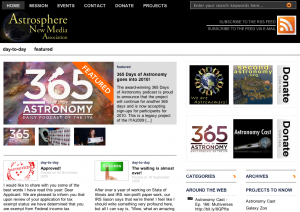 A New Website for a New Non-Profit: Announcing Astrosphere