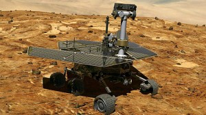 Mars Rover  (credit: NASA)