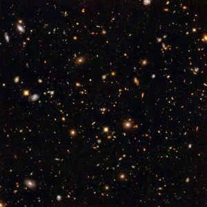 Hubble Ultra Deep Field [credit: NASA / STScI]