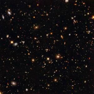 Hubble Ultra Deep Field [credit: NASA / STScI]